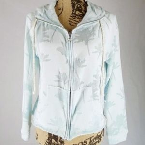 Victoria's Secret | Zip Front Hoodie w/Sheer (S)